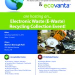 Morton's 2013 Electronic Recycling Event - Sept 7, 2013